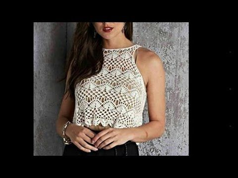 Blusa Regata Fashion PAP 2 - YouTube | Proyectos que intentar ...