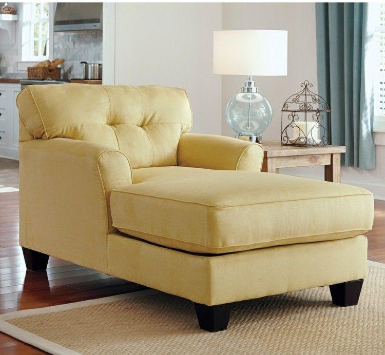 Liegesessel im Wohnzimmer im Landhausstil Living Pinterest - wohnzimmer couch landhausstil