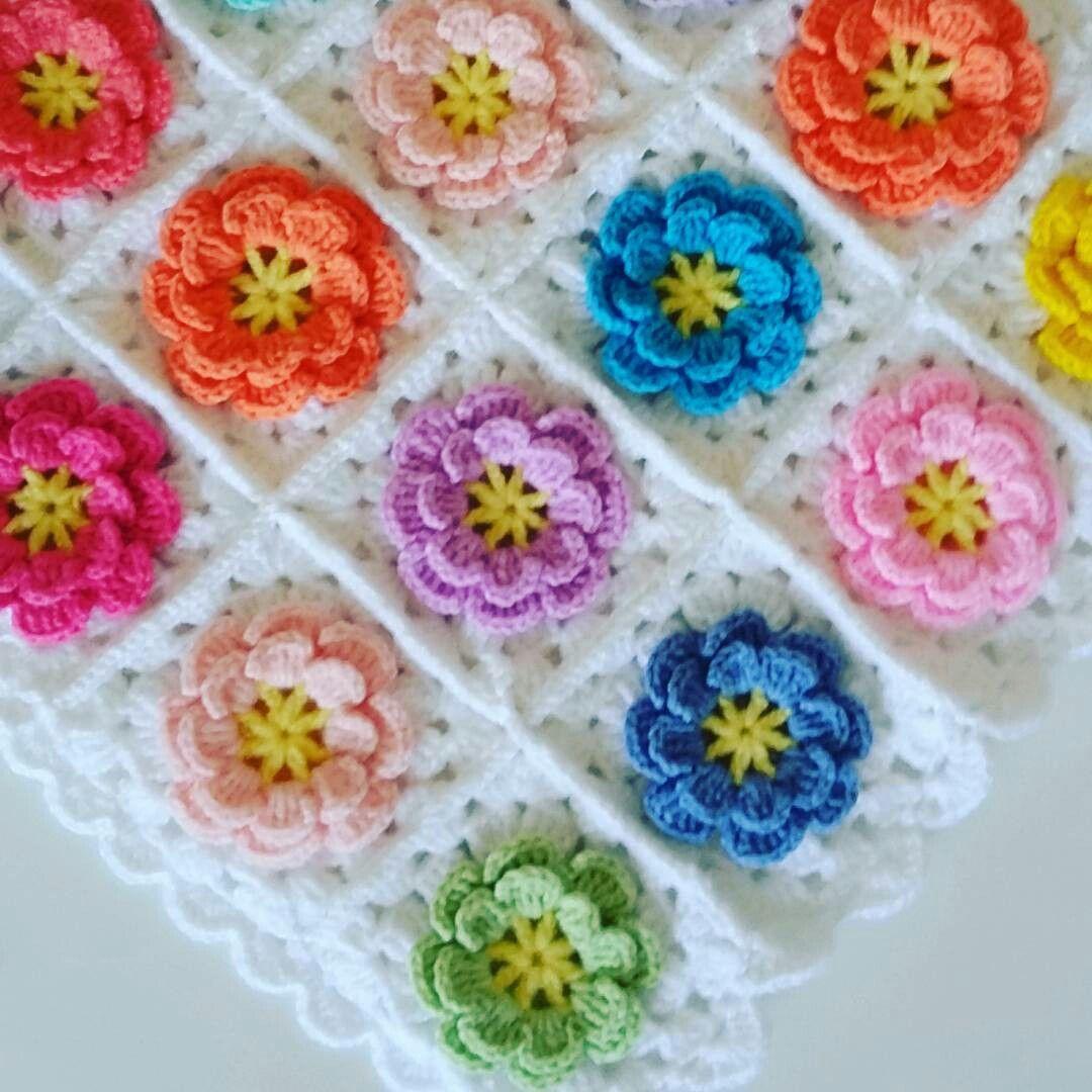 Pin de Karen Coleman en Shabby chic crochet | Pinterest | Punto de ...