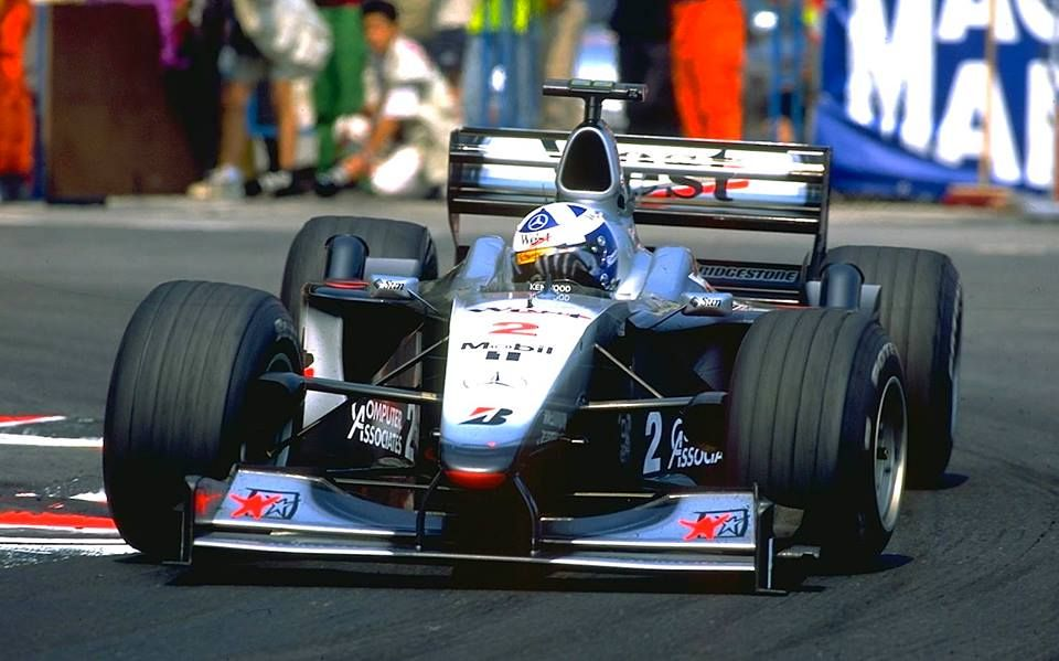 f1 mclaren mp4 15 del brit nico david coulthard ganador del gran premio de m naco en 2000 0. Black Bedroom Furniture Sets. Home Design Ideas