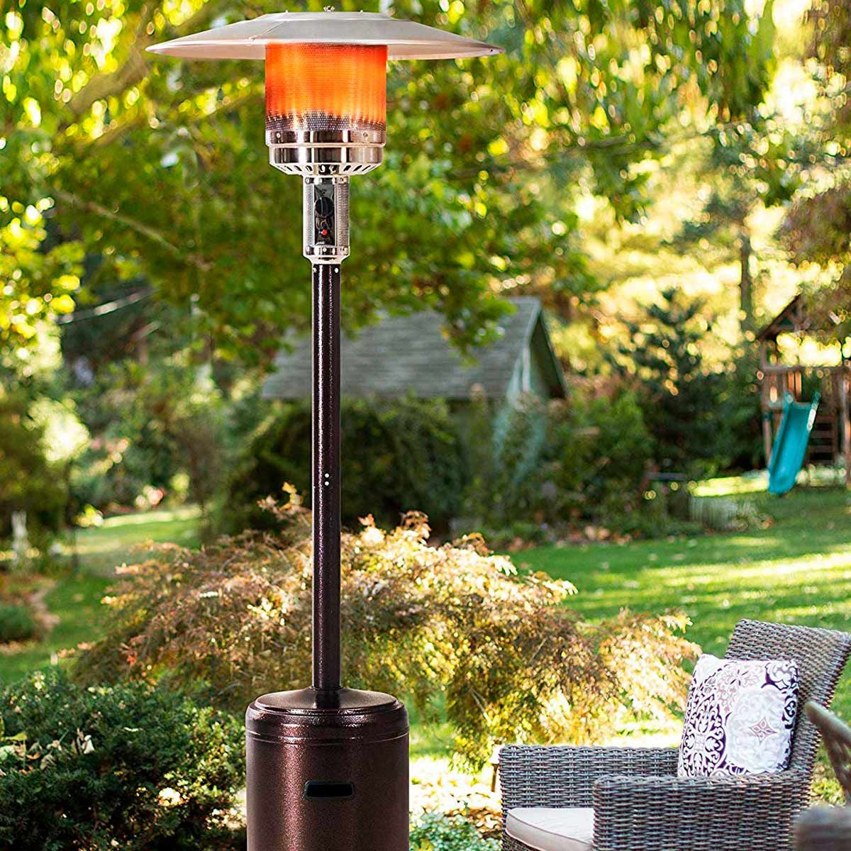 13 Outdoor Patio Heaters You'll Want in Your Backyard