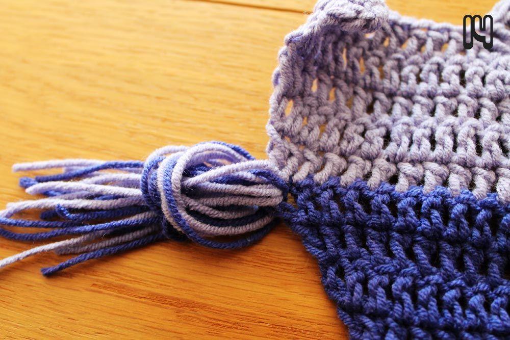 Free crochet pattern: Retro Ripple (NL + ENG