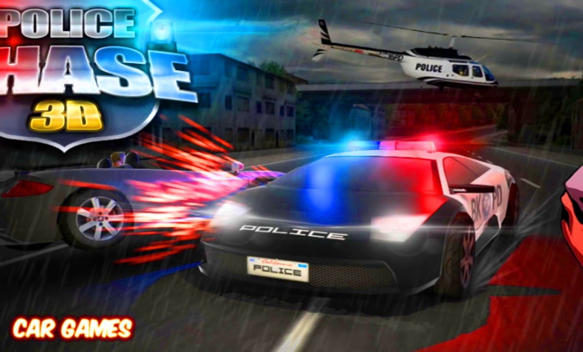 Police Chase 3D Car Game Racing Cartoon for Kids | cartoon movie|car ...