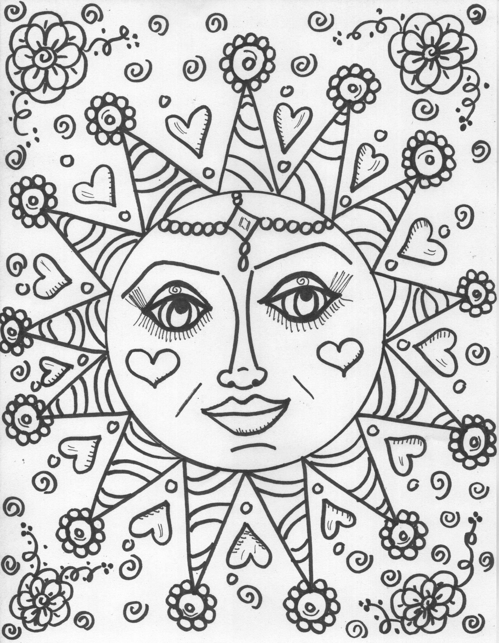 coloring book pages design your