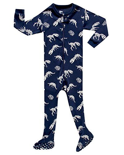 66e831da96 KikizYe Infant Baby Boys Footed Pajamas