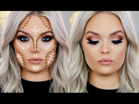 How To Contour Round Face You