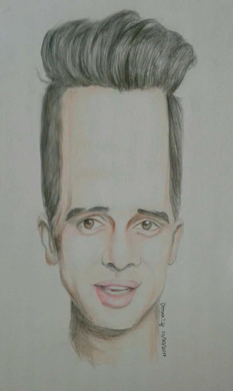 Brendon Urie Drawing : brendon, drawing, Accurate, Depiction, Brendon, Drawing), Urie,, Funny