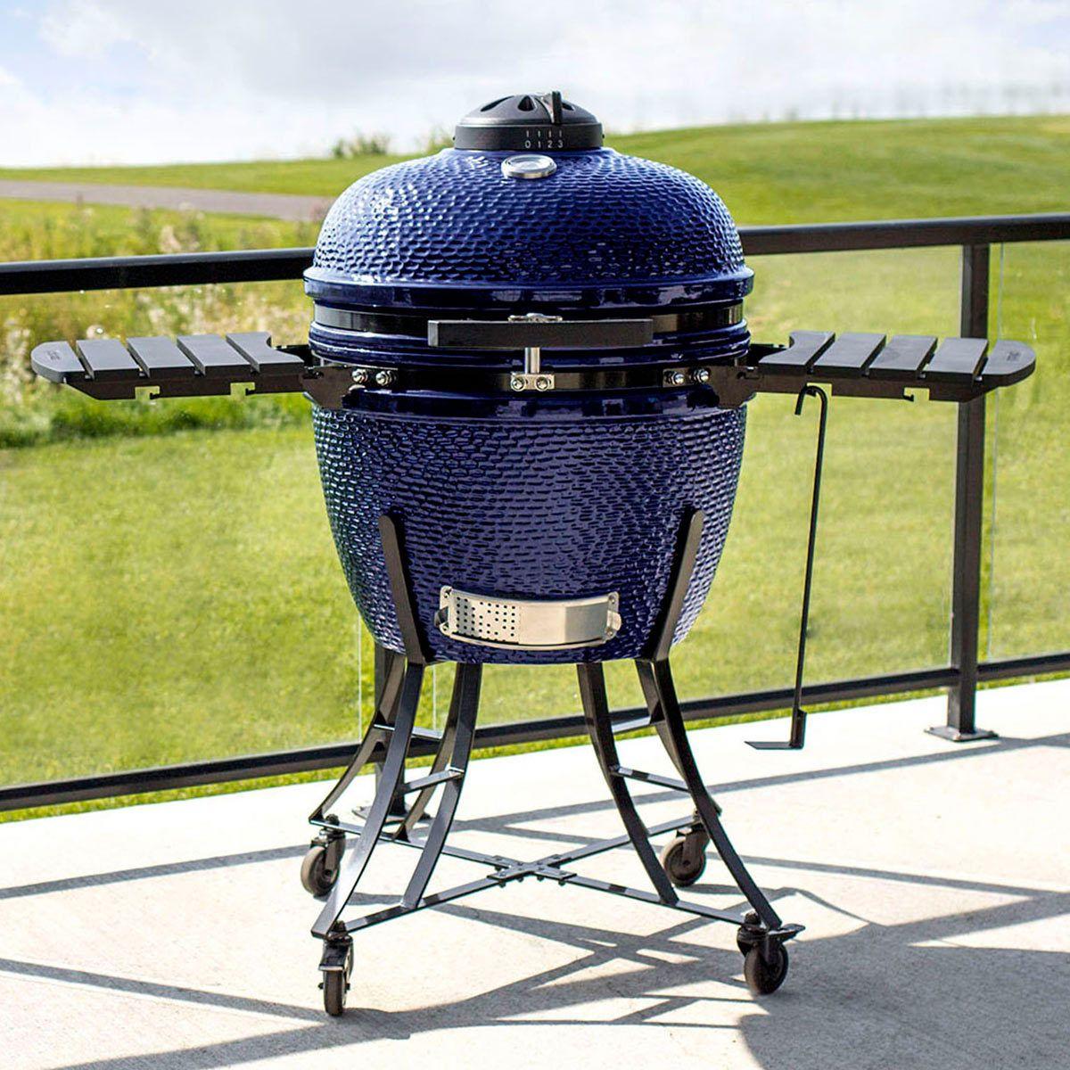Louisiana Grills 24 (60 cm) Ceramic Kamado Charcoal Barbecue - In 3