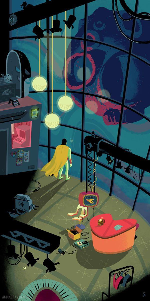 Space Ghost  by Glen Brogan