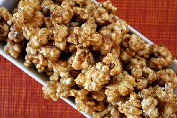 Caramel Popcorn--Takes like Cracker Jacks only BETTER