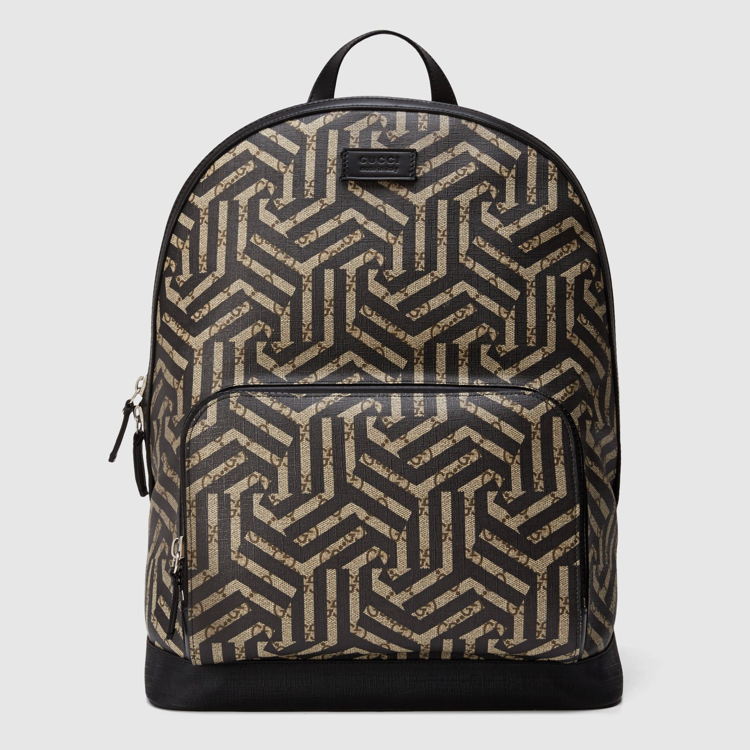 c5abb378d047 Gucci Men - GG Caleido backpack - 406370KVW3X9769 | Bags | Mens ...
