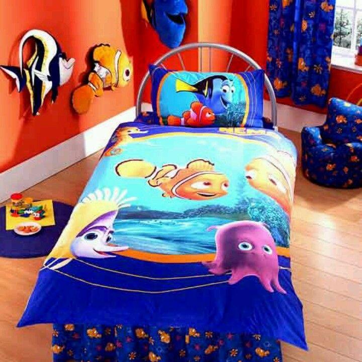 Finding Nemo Bedding Disney Themed Bedrooms Kids Room Creative Kids Rooms