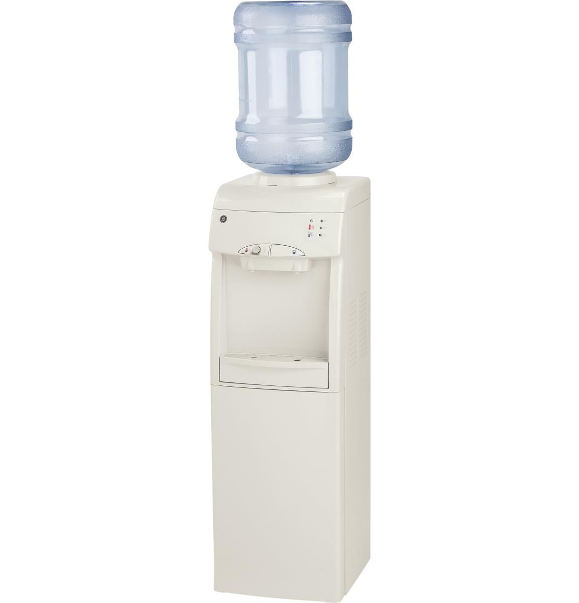 Ge Gxcf05d Refurbished Hot And Cold Freestanding Water Dispenser Water Coolers Water Dispenser Portable Ice Maker