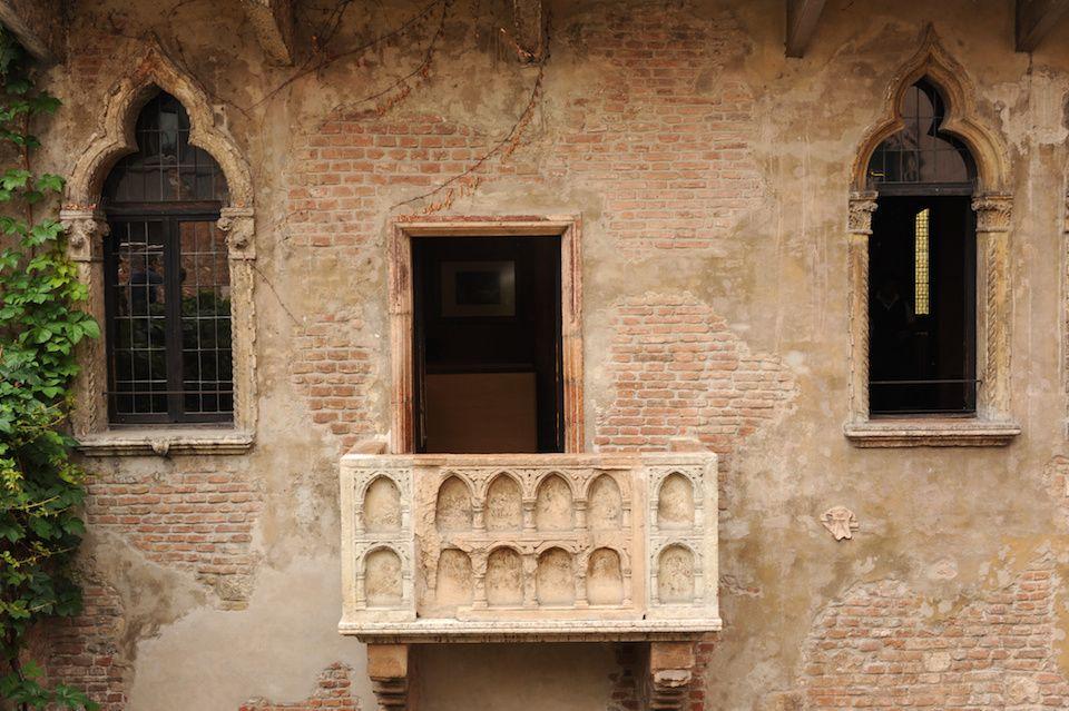 Tour Romeu E Julieta Verona Case Balconi