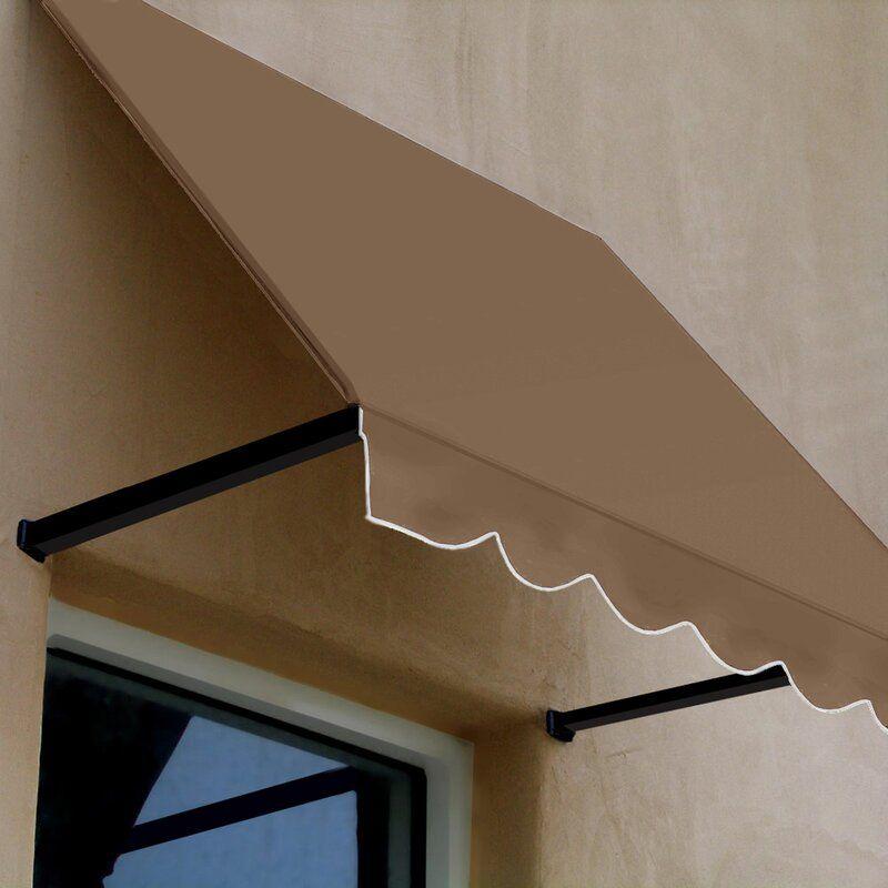 Dallas Retro Woven Acrylic Standard Window Awning In 2020 Window Awnings Fabric Awning Diy Awning