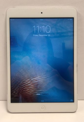 Apple iPad Mini 1st Generation 16GB - A1432 Wi-Fi 7.9in - Silver AS-IS NR https://t.co/xWcYBBD6WW https://t.co/vkrEsgX0UL