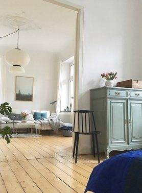 kissen und wohnaccessoires von fine little day blau gr n altbauwohnung und altbauten. Black Bedroom Furniture Sets. Home Design Ideas