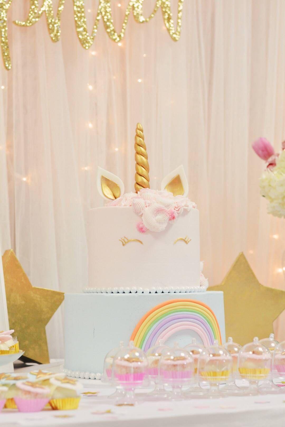 Sophia's Unicorn Birthday Party