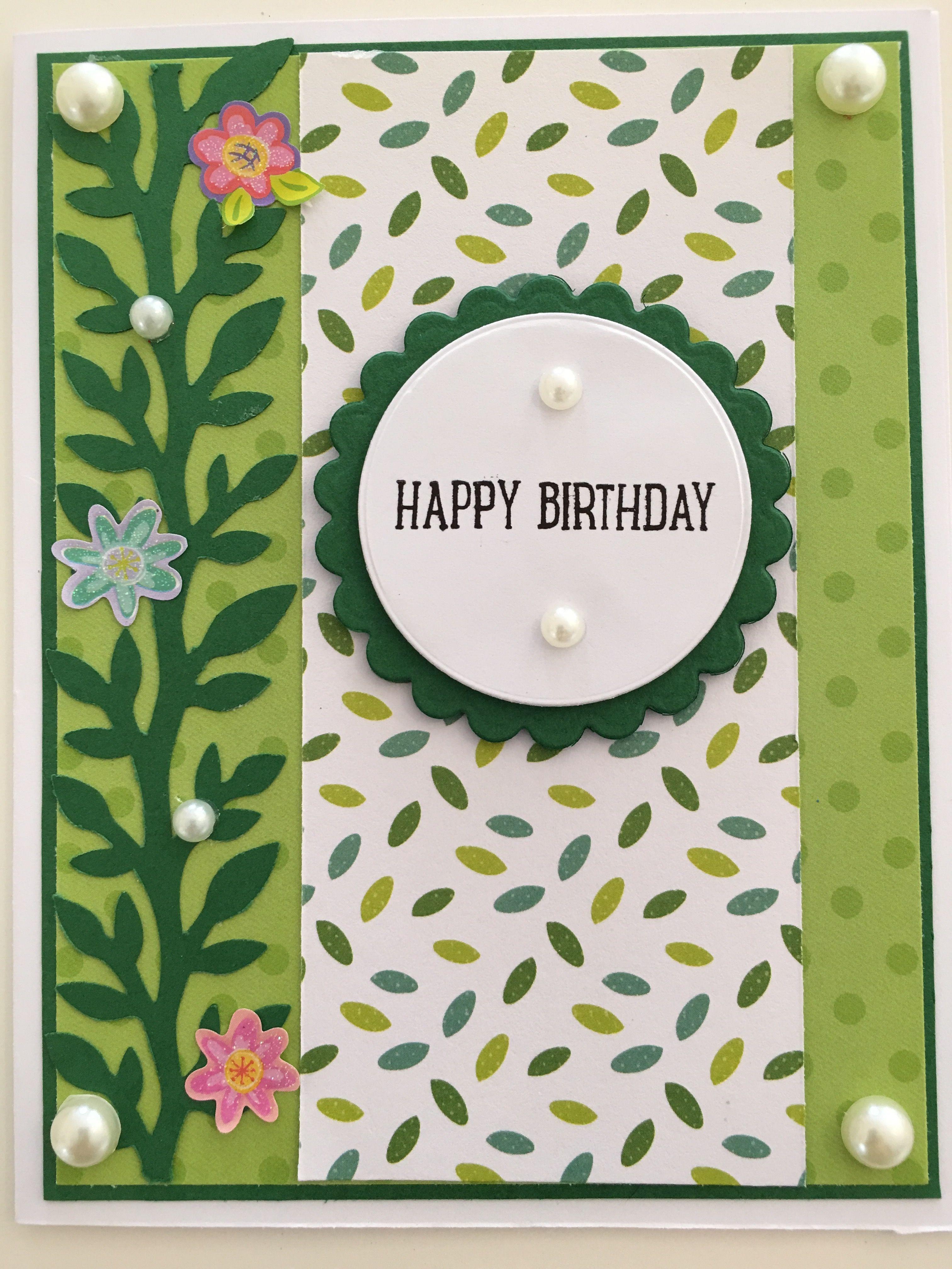 Cby handmade happy birthday greeting card cby birthday cards