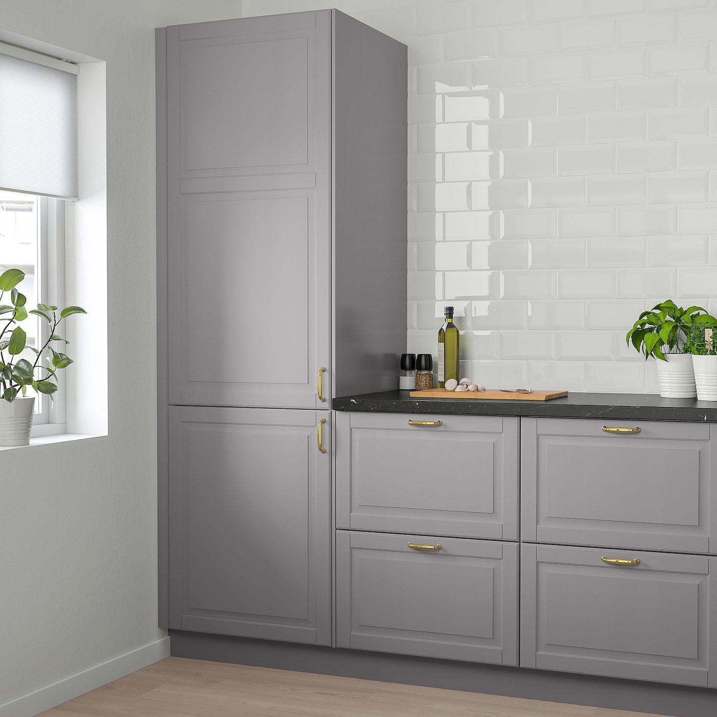 "BODBYN Door gray 15x30 "" in 2020 Ikea kitchen"