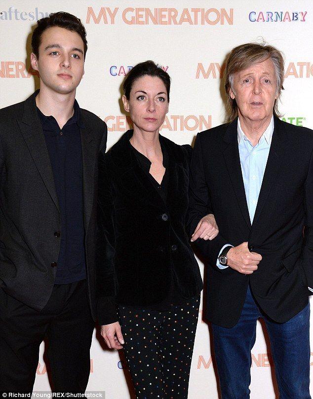 Sir Paul McCartney 75 Steps Out With Lookalike Grandson Arthur 18