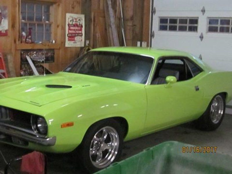 1972 Plymouth Barracuda (MA) - $39,900 Please call Matt @ 413-822 ...