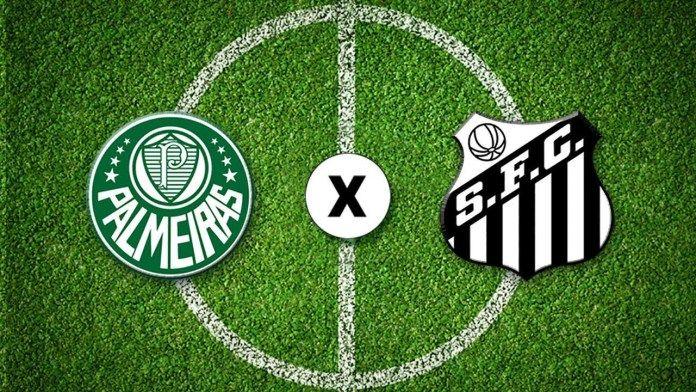 Assistir AO VIVO Palmeiras x Santos Futebol na TV Globo e