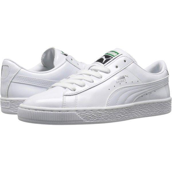 Womens Shoes PUMA Basket Matte & Shine White/White