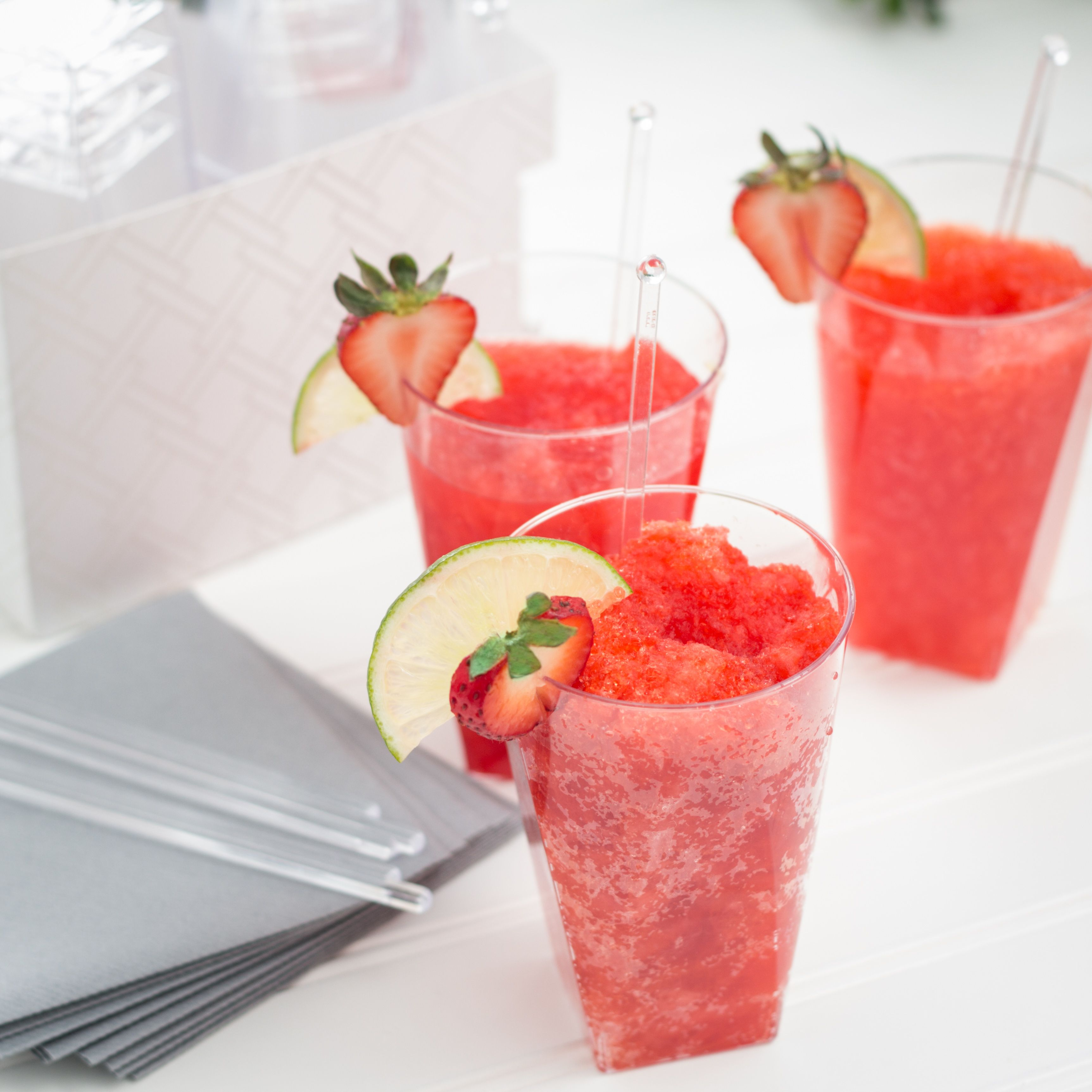 Blend up a pitcher of Frozen Strawberry Daiquiris for National Daiquiri Day. Optional but recommended: Beach, pool or body of water for the ultimate daiquiri experience. Shop our  Luxe Cups at Target today!
