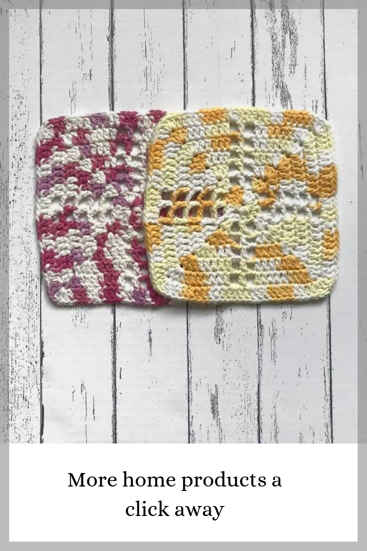 10 Offpink And Yellow Cross Crochet Washcloth Set 100 Etsy Crochet Washcloth Crochet Washcloth Cotton Cotton Washcloth