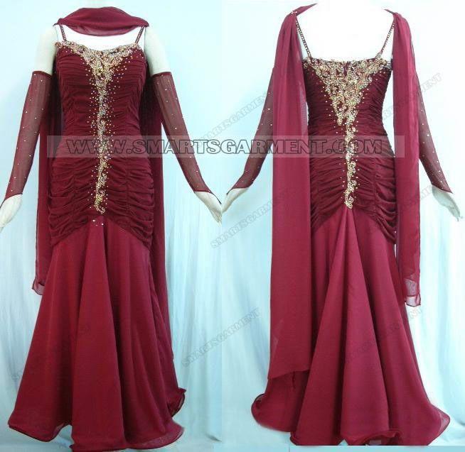 Custom-made ballroom dance dresses
