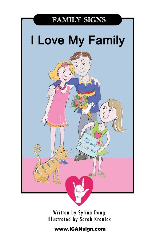 photograph regarding Printable Baby Sign Language identify ASL Family members Indications - Totally free printable e book in excess of loved ones individuals