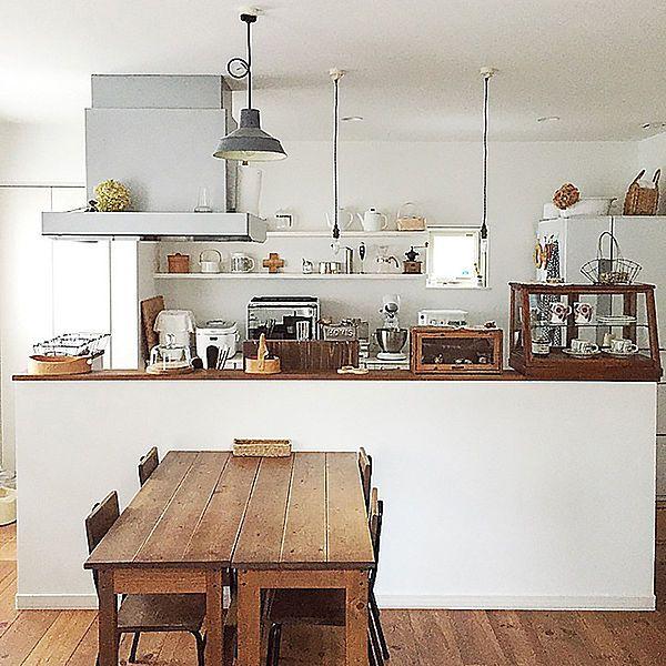 家族と共に時を重ねる 無垢材の床 がある暮らし インテリア リビング 収納 アイデア