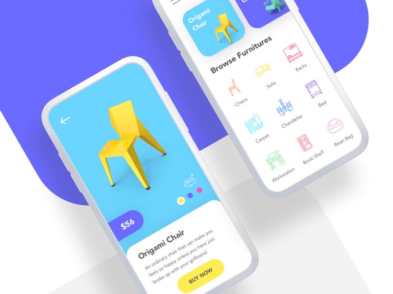 Furniture App Concept Sketch Freebie Download Free Resource For Sketch Sketch App Sources Furniture App Free Design Resources App Design