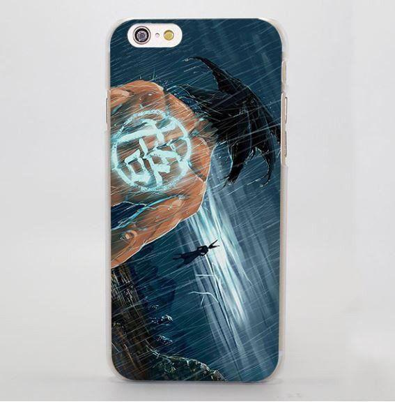 Dbz Goku Go Symbol Kanji Under The Rain Cool Iphone 4 5 6 7 Plus