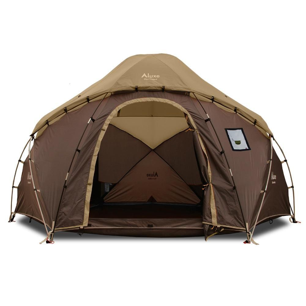 Photo of Hercules Winter Tent (8p) Floorless with Wood Stove Vent
