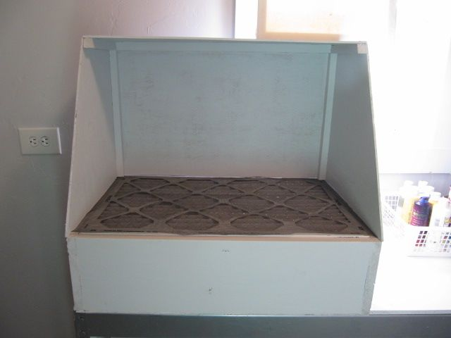 Cool Diy Downdraft Airbrush Paint Booth Military