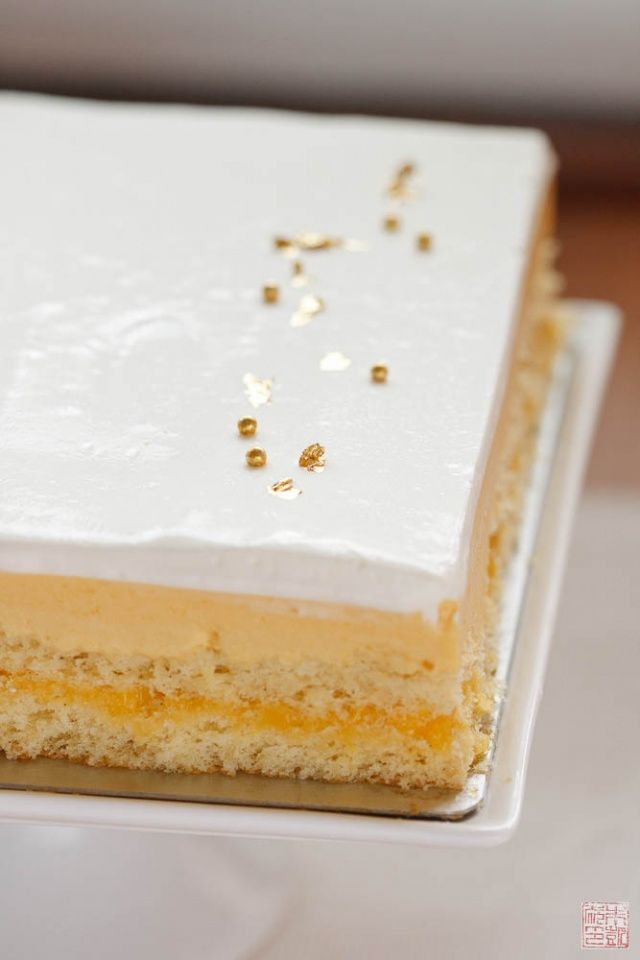 Another Year Another Birthday Mango Passion Fruit Cake Passion