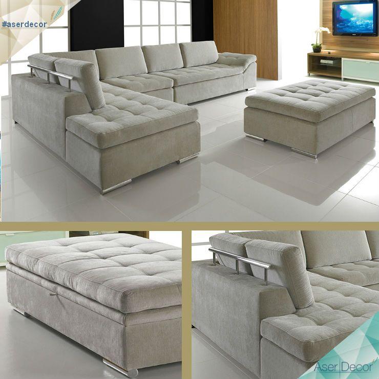 Mais um para relaxar! Sofá Adaxus! WWW.ASERDECOR.COM.BR/SOFAS #asedecor #decor #sofas #relax