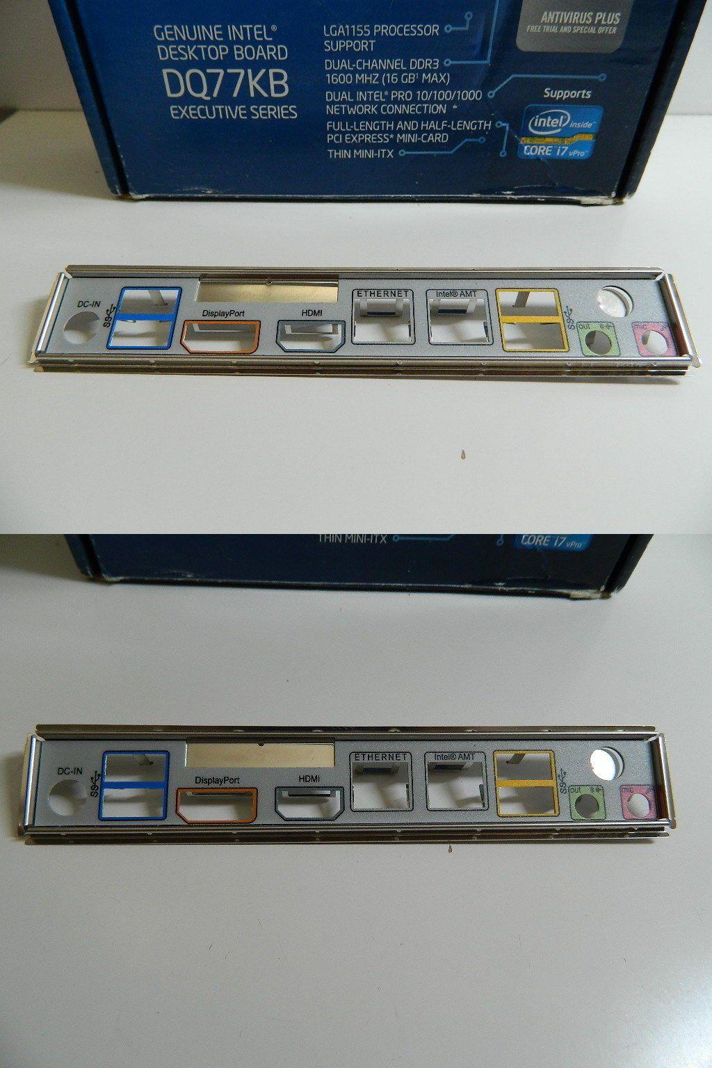 Motherboard Backplates 170080: Intel I O Shield  Backplate  Dq77kb