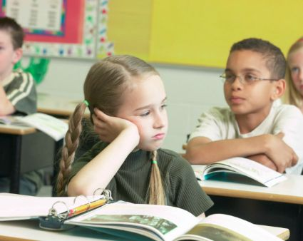 """""""ADHD kids often misbehave during transitions—lunch, recess, breaks; when the schedule or class structure changes (a substitute is present); when he is failing a class; or when medication wears off. Ignore minor muttering in class, especially if the student follows instructions. Teach the child to recognize when he is about to lose control and have a crisis plan in place."""""""