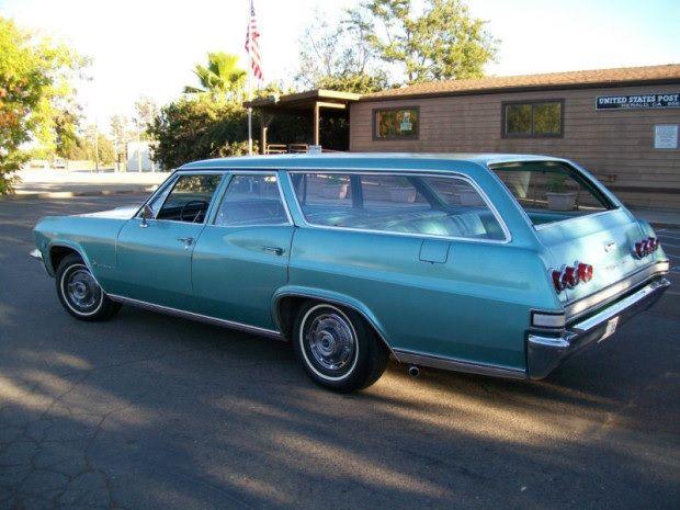 All Original 1965 Chevrolet Impala Nine Passenger Wagon