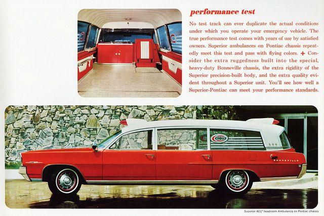 Pontiac older EMO vehicle