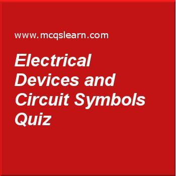 Electrical devices and circuit symbols quiz o level chemistry electrical devices and circuit symbols quiz publicscrutiny Images