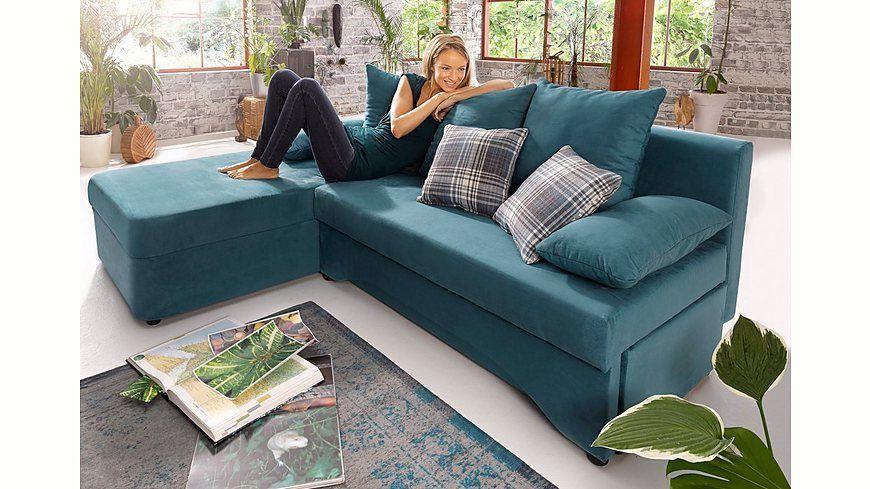 Polsterecke mit Bettfunktion Jetzt bestellen unter   moebel - gemütliches sofa wohnzimmer