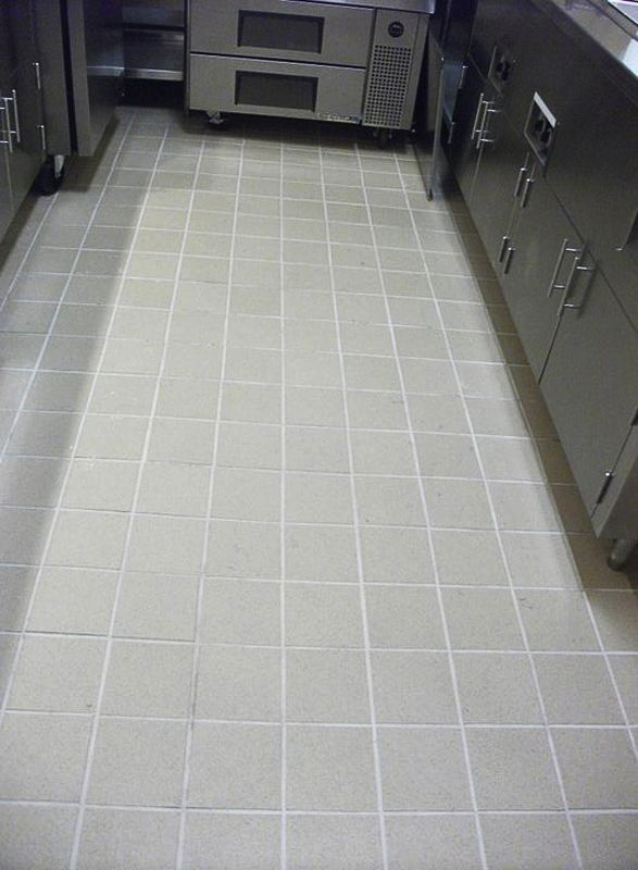 Floor Tiles Used In Slippery Areas Are Often Treated With Honing