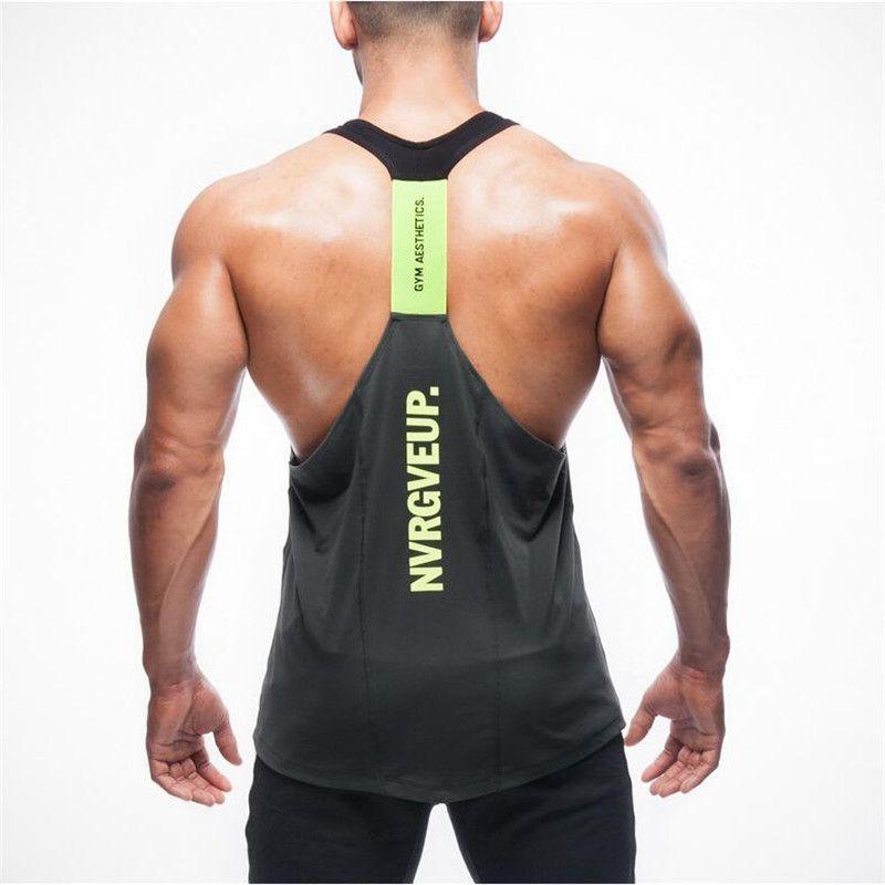 1772f0b5e3e48 Shark Men s Tank Tops Stringer Bodybuilding Fitness Men s Tanks Clothes  Gymshark