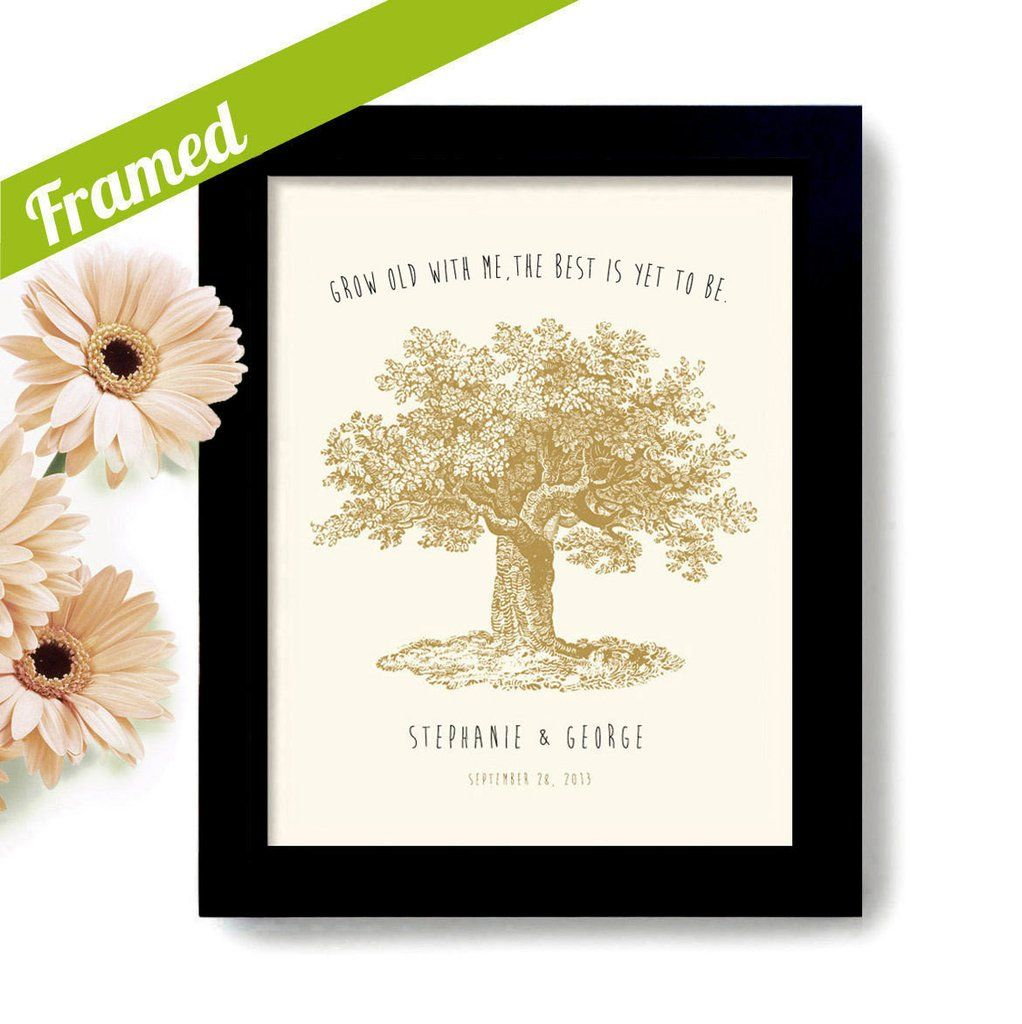 Grow Old With Me. Give the perfect personalized wedding gift that ...