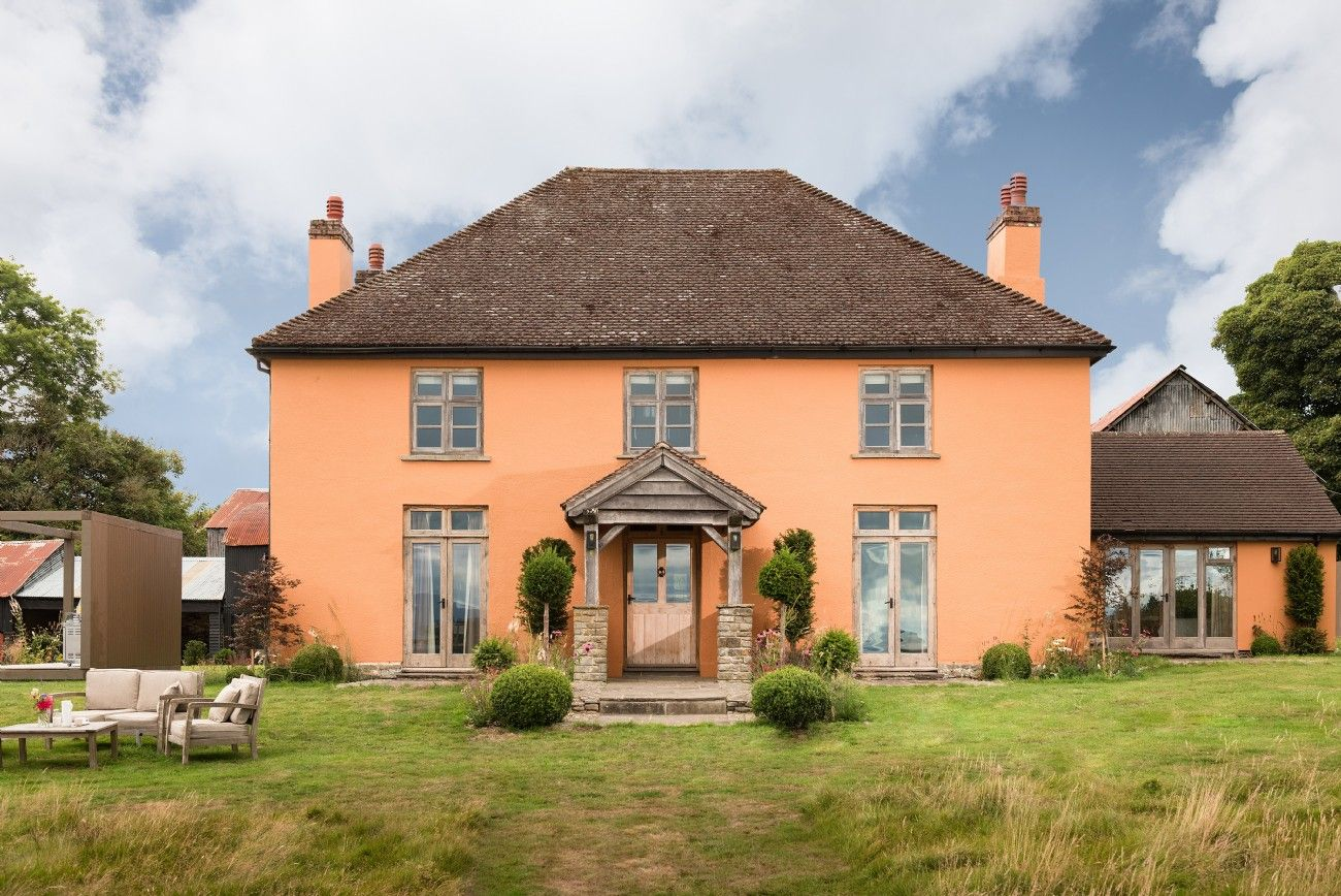 Herefordshire luxury selfcatering farmhouse near Hayon