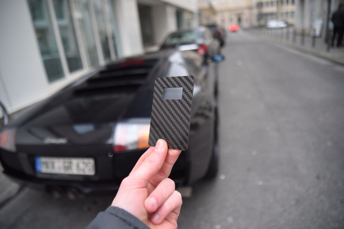 Carbon fiber bottle opener with the Lamborghini | Carbon Fiber ...